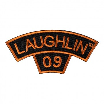Sew On 2009 Laughlin Tab Orange Rocker Event Patch