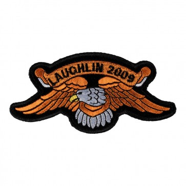 2009 Laughlin Orange Downwing Eagle Event Patch