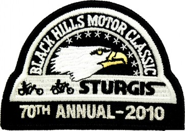 70th 2007 Sturgis Motorcycle Rally Official Past Year Event Patches