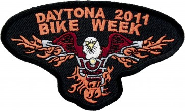 2011 Daytona Beach Flaming Eagle Event Patch
