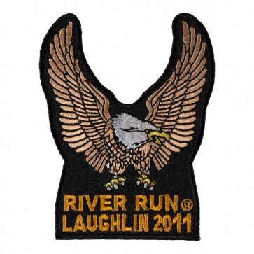 29th Annual Laughlin River Run Brown Eagle Upwing 2011 Event Patch