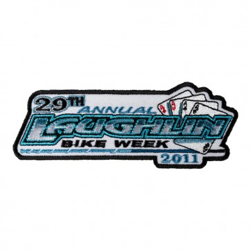 Sew On 2011 Laughlin River Run Aces Event Patch