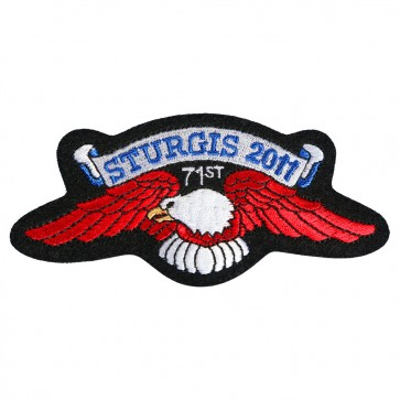 Official Sturgis 2011 71st Eagle Wings Patch