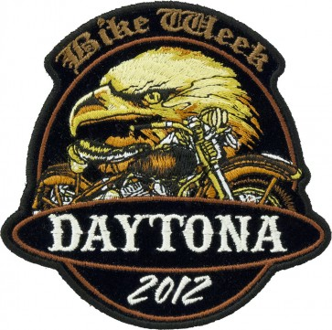 2012 Daytona Bike Week Eagle & Motorcyle Event Patch