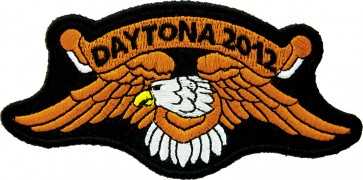 2012 Daytona Bike Week Orange Eagle Event Patch