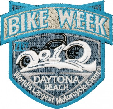 2012 Daytona Beach Bike Week Official Event Patch