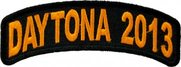2013 Daytona Bike Week Orange Rocker Event Patch