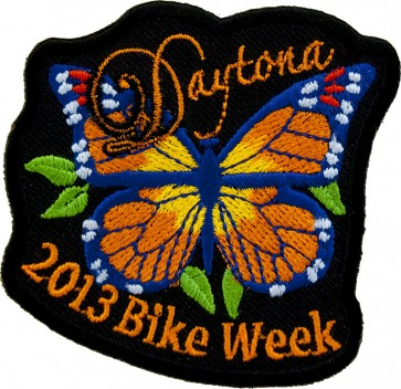 2013 Orange Butterfly Daytona Bike Week Event Patch