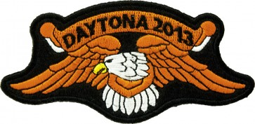 2013 Daytona Bike Week Orange Eagle Event Patch