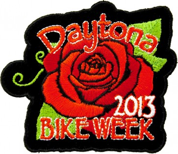 2013 Daytona Bike Week Red Rose Event Patch