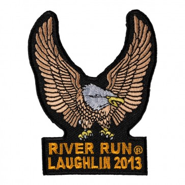 Sew On2013 Laughlin River Run Brown Eagle Upwing Event Patch