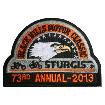 73rd 2013 Sturgis Motorcycle Rally Official Past Year Event Patches
