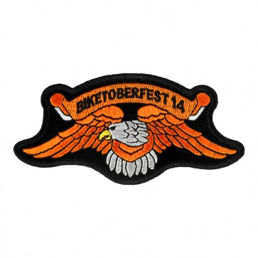 2014 Biketoberfest Orange Eagle Event Patch