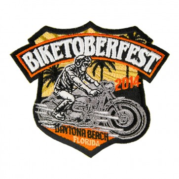 2014 Biketoberfest 22nd Daytona Beach Official Event Patch