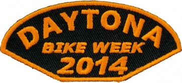 Bike Week 2014 Orange Patch