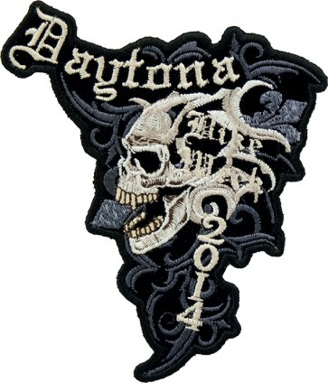 Marble Skull Bike Week Patch