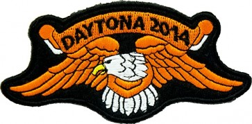 Orange Eagle Daytona Patch