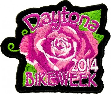 Daytona Pink Rose Patch