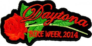 Red Rose Bike Week Patch