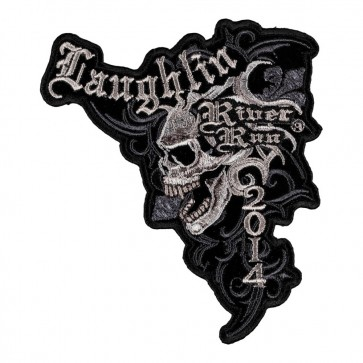 32nd Anniversary 2014 Laughlin River Run Marble Skull Event Patch