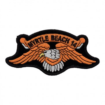 Sew On 2014 Myrtle Beach Orange Eagle Event Patch
