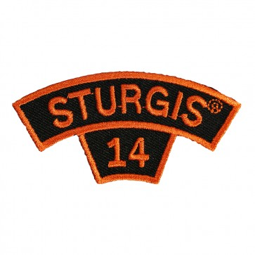 Orange Rocker 74th Sturgis 2014 Event Patch