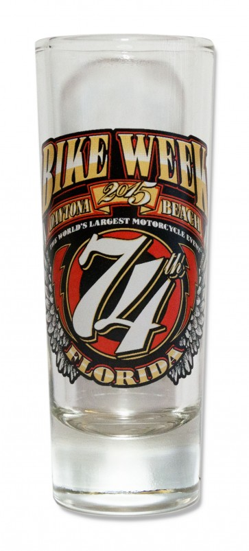 Bike Week Daytona Shot Glass Souvenir