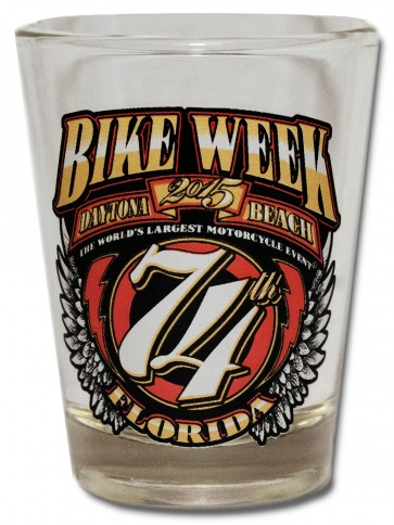 Official Bike Week Shot Glass