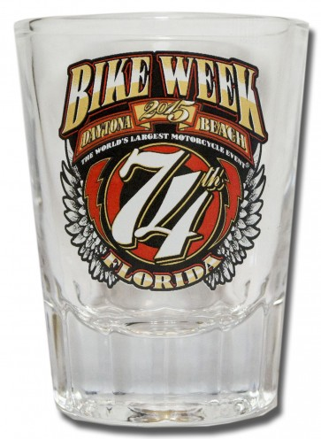 Daytona Beach Bike Week Shot Glass