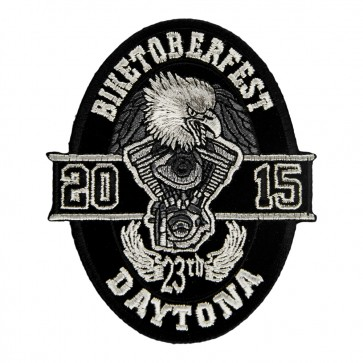 2015 Biketoberfest Daytona Oval Eagle Event Patches
