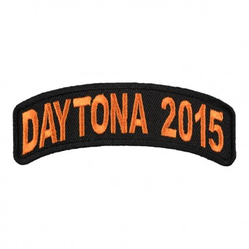 2015 Daytona Bike Week Orange Rocker Event Patch