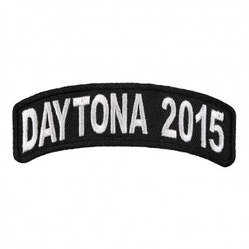 2015 Daytona Bike Week White Rocker Event Patch