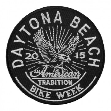2015 Daytona Bike Week American Tradition Eagle Event Patch