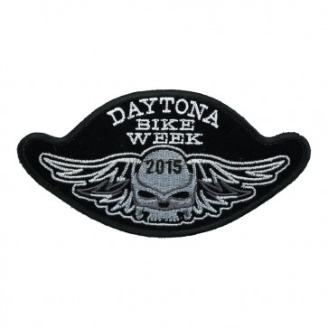 2015 Daytona Bike Week Winged Skull Event Patch