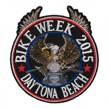 2015 Daytona Bike Week Riding Eagle Patriotic Event Patch