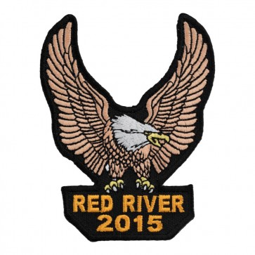 2016 Red River Brown Eagle Upwing 33rd Anniversary Event Patch