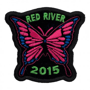 33rd Annual 2015 Red River Pink Butterfly Event Patch