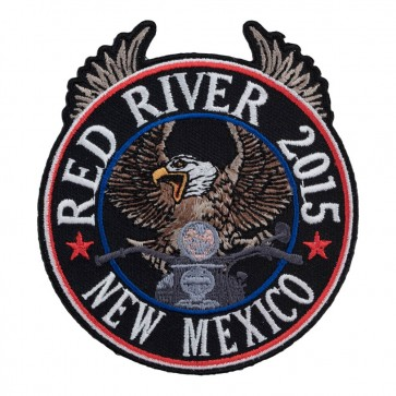 33rd Annual 2015 Red River Riding Eagle Patriotic Event Patch