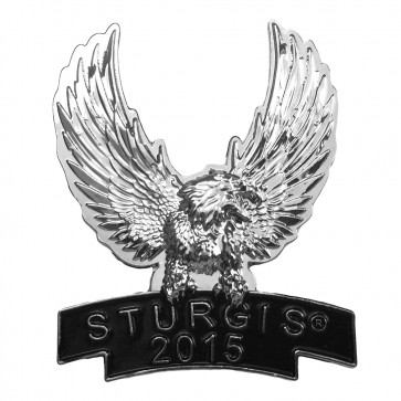 Silver Eagle 75th Annual Sturgis Black Hills Rally Event Pin