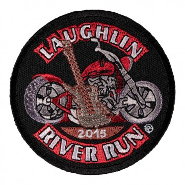 33rd Anniversary 2015 Laughlin River Run Guitar & Motorcycle Event Patch