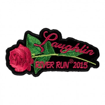 33rd Annual 2015 Laughlin River Run Pink Rose & Stem Event Patch