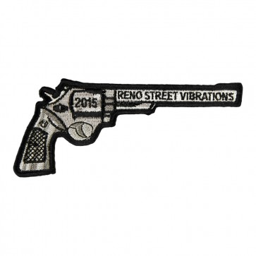 2015 Reno Street Vibrations Revolver Gun Event Patch