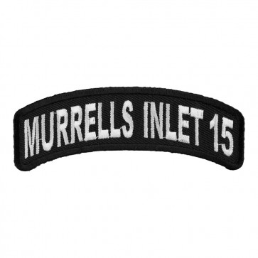 2015 Murrells Inlet Embroidered White Rocker Event Patch