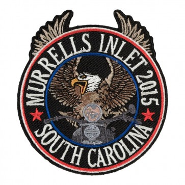 2015 Murrells Inlet Riding Eagle Patriotic Annual Event Patch