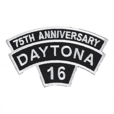 2016 Daytona Bike Week White Rocker 75th Anniversary Event Patch