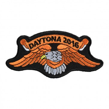 2016 Daytona Bike Week Orange Eagle Event Patch