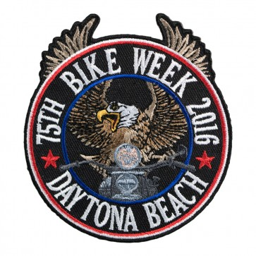 2016 Daytona Bike Week 75th Riding Eagle Patriotic Event Patch