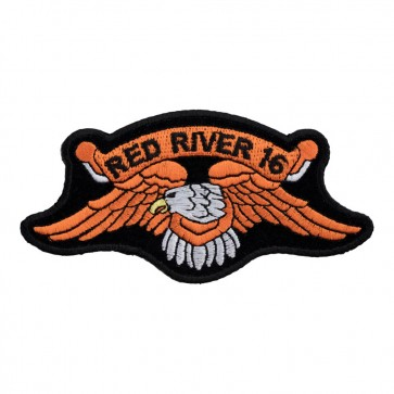 2016 Red River Orange Downwing Eagle Event Patch