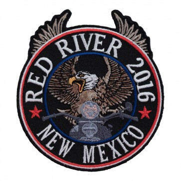 2016 Red River Riding Eagle Patriotic 34th Anniversary Event Patch
