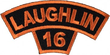 2016 Laughlin River Run Orange Tab Rocker Event Patch